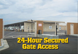 24/7 Secured Gate Access